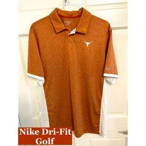 NIKE Dri-Fit Golf Polo Style Shirt Sz XL